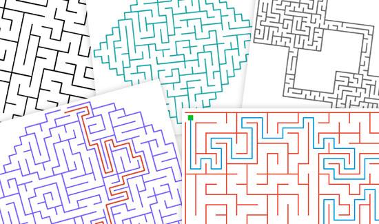 Maze Puzzle Maker